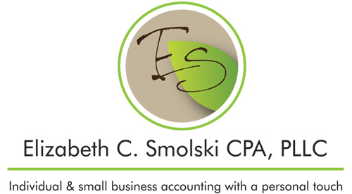 Logo and Branding for Elizabeth C. Smolski CPA, PLLC