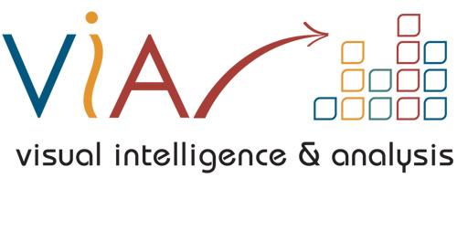 VIA Logo and Brand Identity for Visual Intelligence & Analysis