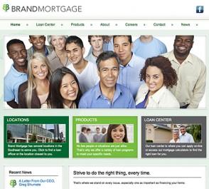 Brand Mortgage WordPress Mobile